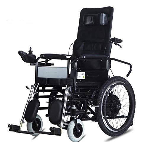 Wohnaccessoires Ältere Behinderte Faltbarer elektrischer Elektrorollstuhl Langlebiger Rollstuhl Sicher und einfach zu fahren für zusätzlichen Komfort Reisemotorisierter elektrischer Elektrorollstuh