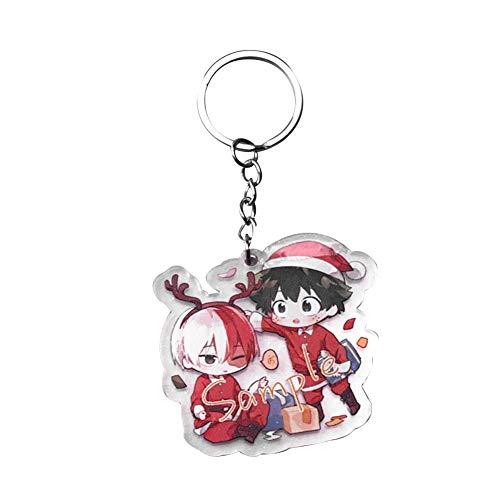 CAR-TOBBY Acryl Sleutelhanger Anime Mijn Hero Academia Hanger Sleutelhanger Tas Telefoon Hanger Sleutelhanger (H08)