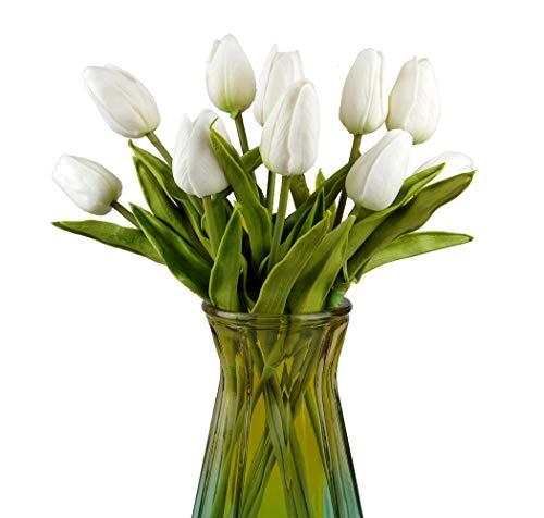 Magic Show Kunstblumenstrauß, aus Seide, Kunsttulpen, für Hochzeit, zu Hause, Garten, Party, Dekoration