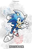 Notebook: Sonic Sonic The Hedgehog Sketch , Journal for Writing, College Ruled Size 6' x 9', 110 Pages
