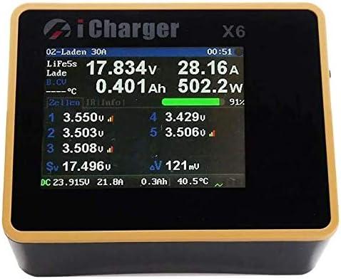 BuddyRC iCharger 卸売り X6 800W 30A DC Balance Battery 開催中 LCD Screen Smart