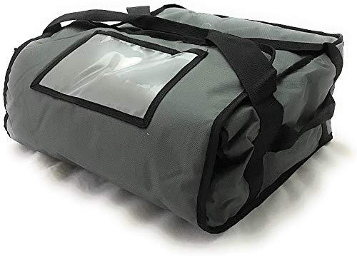 Meirrai – Bolsa térmica porta pizzas y comida para llevar pizza, taxi, bolsa cálida