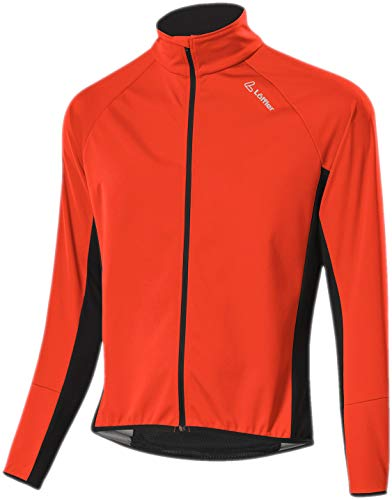 LÖFFLER Herren Bike Jacket Alpha WS Light Fahrradjacke orange 56