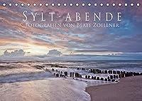 Sylt-Abende - Fotografien von Beate Zoellner (Tischkalender 2022 DIN A5 quer): Stimmungsvolle Fotos der Insel Sylt (Monatskalender, 14 Seiten )