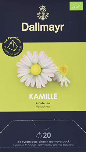 Dallmayr Teepyramide Kamille Bio, 1er Pack (1 x 35 g)