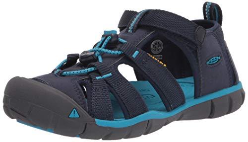 KEEN SEACAMP II CNX-Y Sandal, Black Iris/Vivid Blue, 32/33 EU