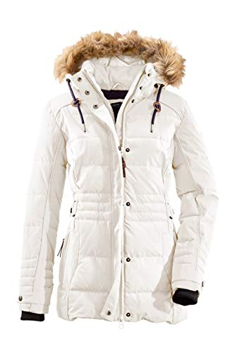 G.I.G.A. DX Damen Oiva Casual Funktionsjacke, Off-White, 44