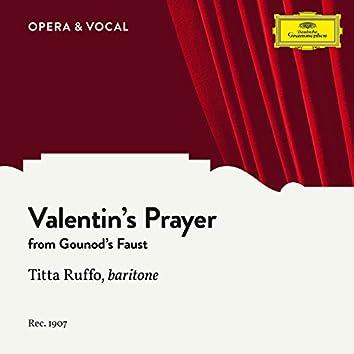 Gounod: Faust, CG 4: Valentin's Prayer (Dio possente, Dio d'amor)