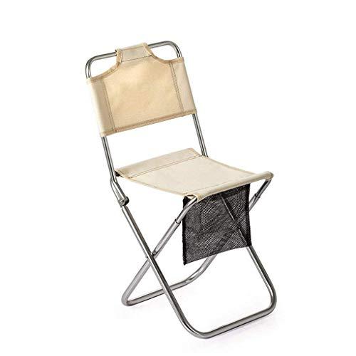 N/Z Living Equipment Camping Chair Ergonomische Stütze mit hoher Rückenlehne und tragbarem Klapp-Quad-Stuhl im Freien (Farbe: B)