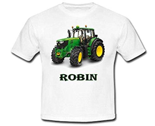 Tee Shirt personnalisé Tracteur avec prénom (2/4)