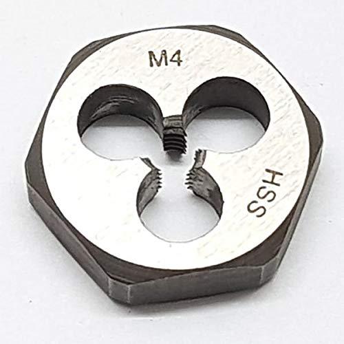 M4 Schneideisen SECHSKANT Schneidmutter Regelgewinde