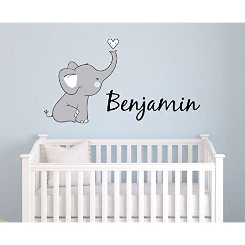 PERSONALISED NAME PLAQUE DOOR SIGN ANIMAL THEME BABY NURSERY DECOR WALL DECOR