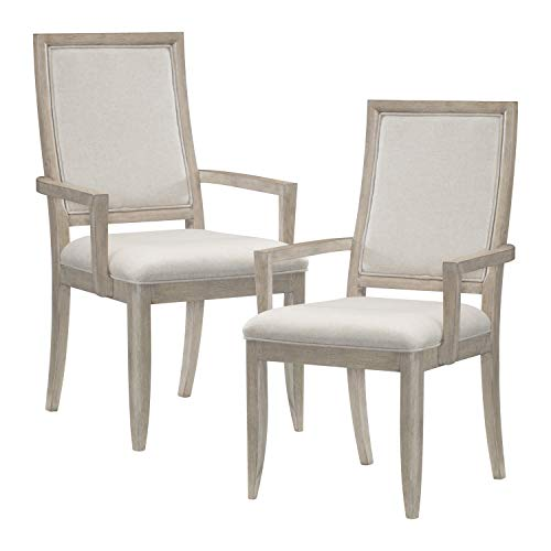 Homelegance Dining Arm Chair (Set of 2), Gray