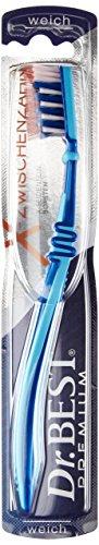 Dr.BEST X-Zwischenzahn Zahnbürste, Weich (6 x 1 Stück), Für eine bis zu 75% bessere Erreichbarkeit der Zahnzwischenräume