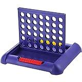 STOBOK 4 en una fila de juego de mesa Conecta cuatro filas de juegos 4 El mismo color para ganar el juego educativo femenino para niños y adultos.