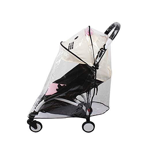 Regenschutz für Babyzen Yoyo Yoya Kinderwagen, winddicht, wasserdicht, Größe L