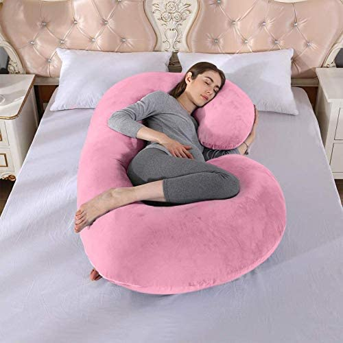 Ruutcasy Pregnancy NEW before selling Pillow Full Body Support Popular standard wit Maternity