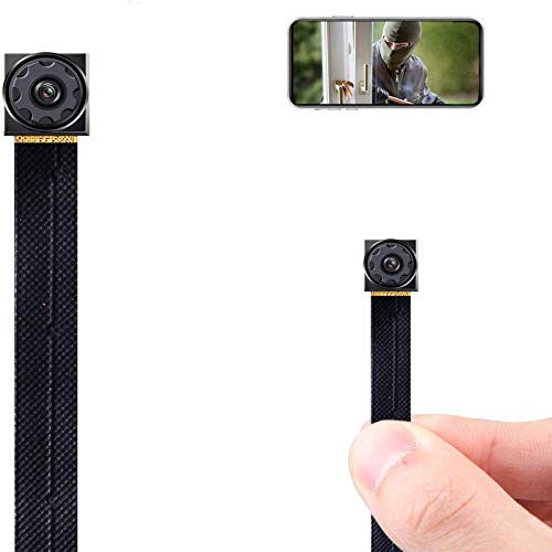 Prompt Hidden Camera, Spy Camera, Mini Spy Camera, Tiny Spy Camera, Small Cameras Hidden Wireless, Nanny Cams Wireless with Cell Phone APP, 7 Hours Long Recording Time
