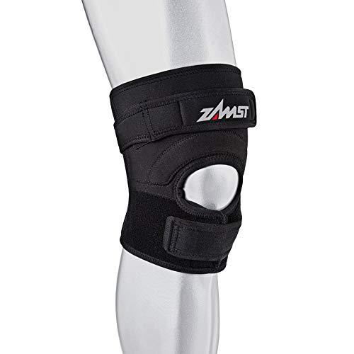 Zamst JK 2 Knee - Protección de Rodilla, tamaño Medio, Color Negro