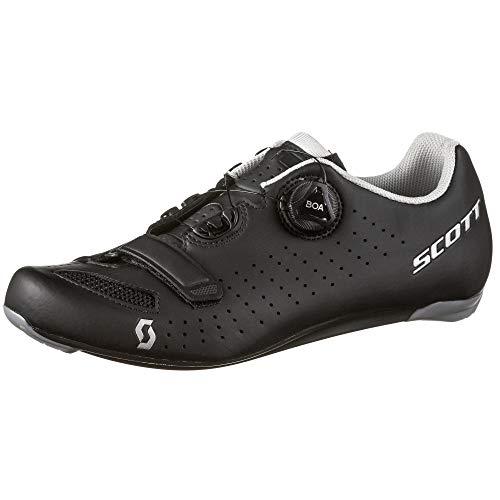 Scott 251817, Herren-Fahrradschuhe, Schwarz/Silber, 44 EU