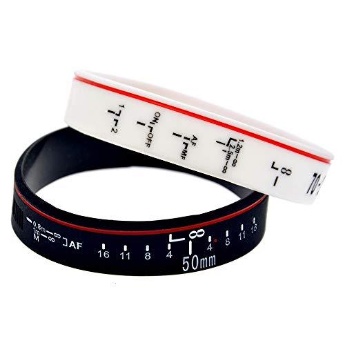 Zdy 10 Stks Siliconen Armband Focus De Lens Lens Focusing Zachte Siliconen Armband SLR Decoratieve Bescherming Schorten