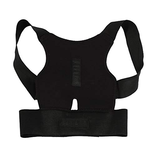 Estink Stützgürtel, Einstellbare Lordosenstütze Rückengürtel, Schultergurt Haltungskorrektur, Lindert Nacken-, Rücken- und Schulterschmerzen(M)