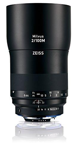 Zeiss Milvus 100mm F/2M ZF.2 Lens (Nikon F-Mount)