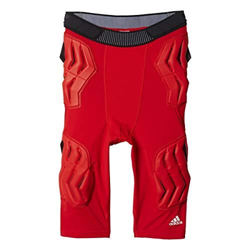 adidas Techfit Herren Basketball-Shorts, gepolstert, Herren, rot, 3X-Large