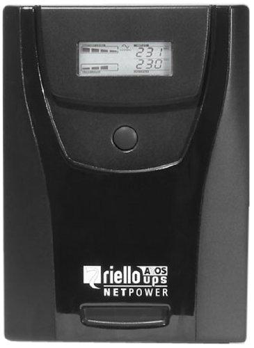 Riello NPW1500 - Sistema de alimentación ininterrumpida, Gris Oscuro