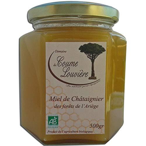 Miel de châtaignier Bio des forêts de l'Ariège 500 g