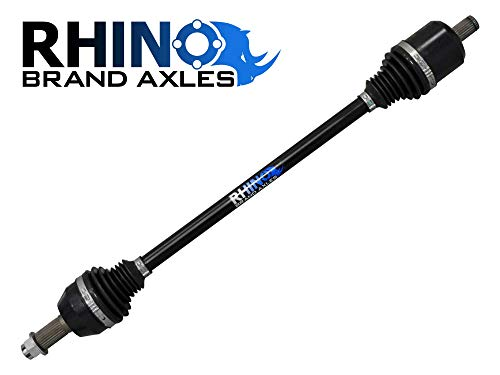 SuperATV Heavy Duty Rhino Brand Rear Axle for Polaris RZR XP 1000/1000 4 / Turbo/AZ Gold Edition/Highlifter Edition - Stock Length REAR Axle - SEE FITMENT - Upgrade From Your OEM Axle!