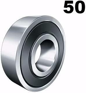 10 6306-2RS Sealed Bearings 30x72x19 Ball Bearings Pre-Lubricated Ten