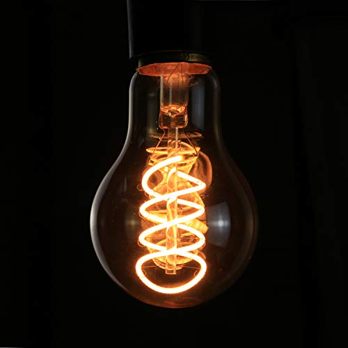 3x Edison Vintage Glühbirne E27, 4W LED Retro Edison Glühlampe, GBLY LED Dekorative Filament Lampen, A60 Warmweiß Antike Bulb Ideal für Nostalgie und Retro Beleuchtung im Haus Café, nicht dimmbar