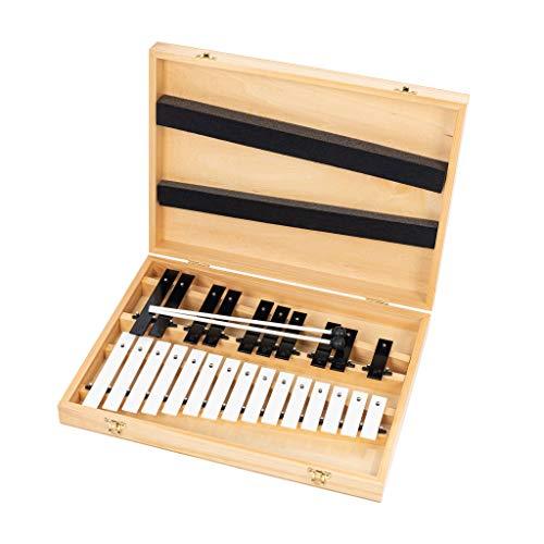 Percussion Plus PP2250 Note Glockenspiel con 2 battitrici