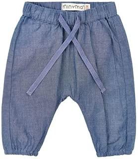 MINYMO Baby Jungen Regen-Latzhose India ink Alter ab 1,5 Jahren Farbe: Blau 3624 Gr/ö/ße: 86