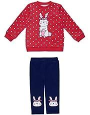 DeFacto Babygirl - Pijama de punto de terciopelo de ajuste regular para bebé niña