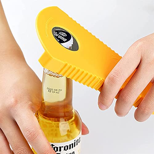 Sacacorchos Abridor de botellas multifuncional, arte de tapa de tornillo, dispositivo de tapón antideslizante y de tornillo para ahorro de mano de obra, gadget de cocina de cocina puede abrelatas, por