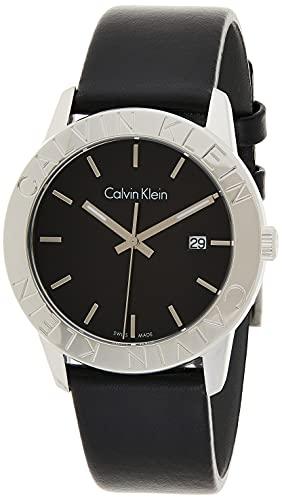 Calvin Klein steady K7Q211C1 Reloj de Pulsera para hombres Fabricado en Suiza