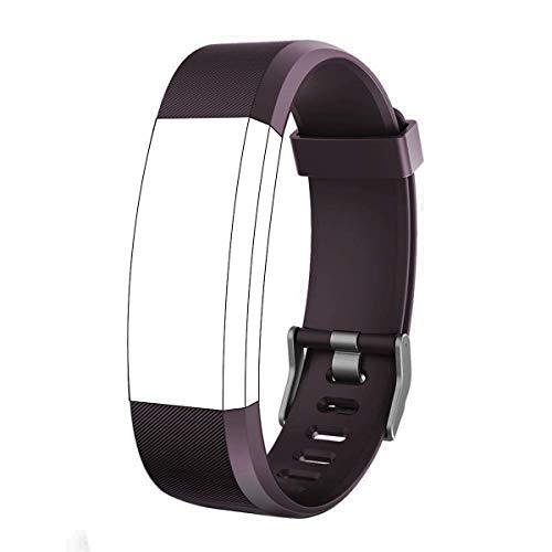 endubro Pulsera Repuesto para Fitness Tracker ID115 HR Plus (Violeta)