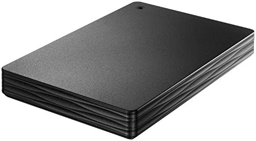 I-O DATA USB 3.1 Gen 1/2.0対応 ポータブルハードディスク 「カクうす Lite」 ブラック 1TB HDPH-UT1KR