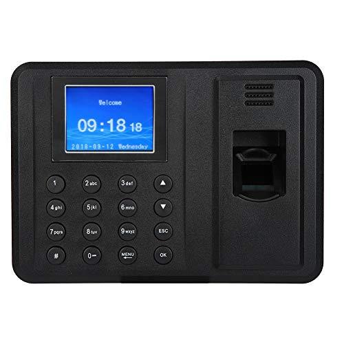 Digitali Password Macchina di Presenza Dipendenti Biometrico di Impronte Rilevatore Presenze 2,4 Pollici TFT Schermo Digitali Impiegato Tempo Presenze Macchina per Rilevazione del Tempo(Spina EU)
