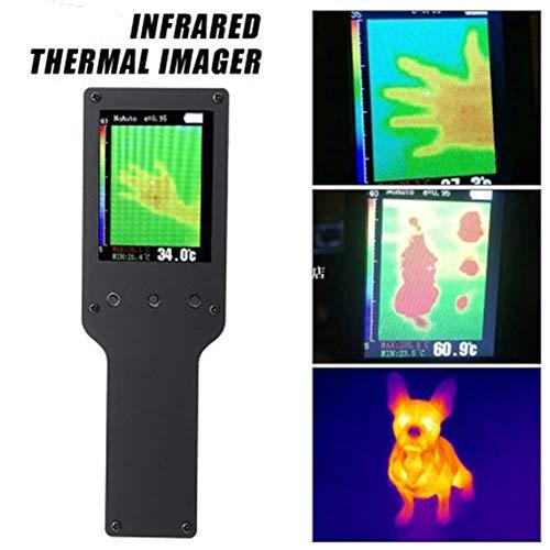 JSX Imageur Thermique Portatif Infrarouge, Caméra Thermique 2,4 Pouces Écran LCD Thermomètre Numérique Instrument De Mesure
