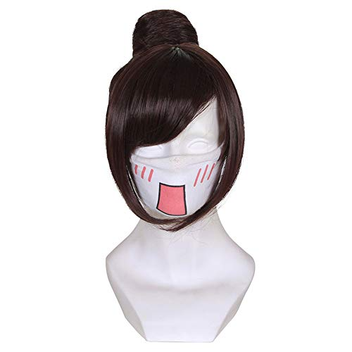Rulercosplay Halloween Cosplay Wigs Game Characters Dva Zarya Soldier 76 Sombra Moria Ashe Mccree Cosplay Wigs (Mei)