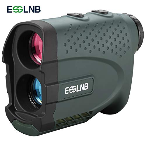 ESSLNB Entfernungsmesser Jagd Golf Laser Rangefinder 7X Vergrößerung Wasserdicht mit Flagfinder Slope Scannen Funktion Abstand Geschwindigkeit Winkel Höhenmessung für Bogenschießen