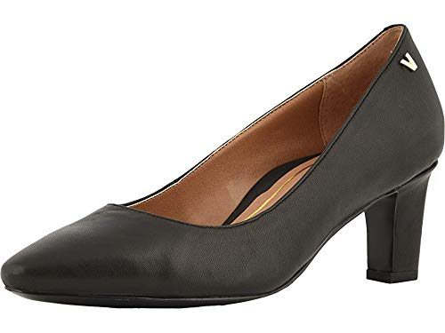 Vionic Women's Madison Mia Heels - Ladies Pumps with Concealed Orthotic Support Black 5 M US