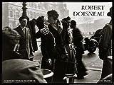 1art1 Robert Doisneau Póster Impresión Artística con Marco (Plástico) - Le Baiser De L'Hotel De Ville Paris (80 x 60cm)