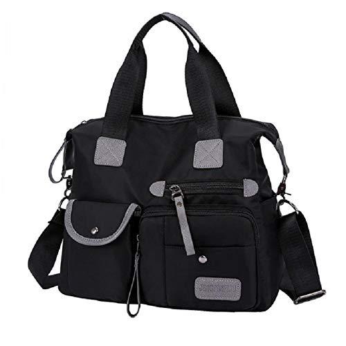 Ynnxia Handtas Schoudertas Draagbare Diagonale Handtas Multi-Pocket Klassieke Stijl Trendy Handtas voor Vrouwen Meisjes