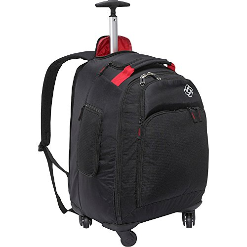 Samsonite LLC 19インチMVS Spinner Rollingバックパックoffers the Grab and Go関数のA Wheeled