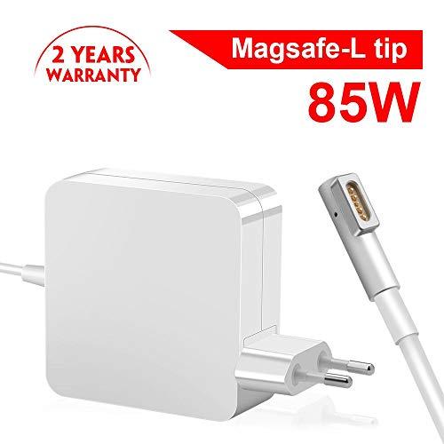 """85W Cargador Mac Book Pro, Eletrand Mac Book Cargador MagSafe 1 Forma de L Adaptador de Corriente Funciona con los Macbook 45W / 60W / 85W MacBooks 13"""" & 15"""" & 17"""" Pulgadas (Antes de Mediados de 2012)"""