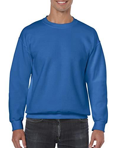 Sweatshirt Gildan Heavy - bleu - Medium